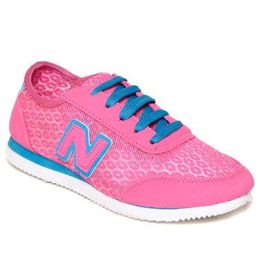 Ten Mesh Pink Womes Sports Shoes -ts323