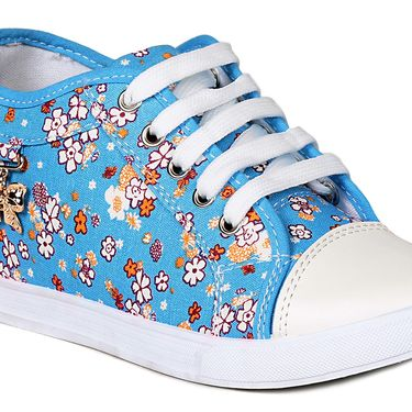 Ten Canvas Blue Sneakers -ts336