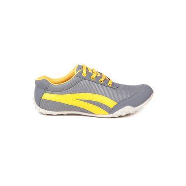 Ten Fabric Yellow Casuals Shoes -ts155