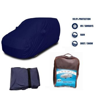 Skoda Laura Car Body Cover  imported Febric with Buckle Belt and Carry Bag-TGS-G-WPRF-137