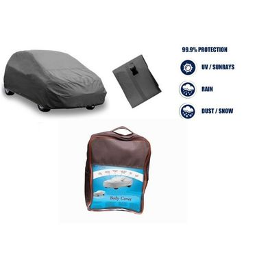 Maruti Suzuki Ignis Car Body Cover  imported Febric with Buckle Belt and Carry Bag-TGS-G-WPRF-94
