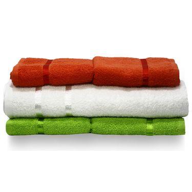Story@Home 5 Pcs Premium Towel Combo 100% Cotton-Multicolor-TW12_05M-01X-03M
