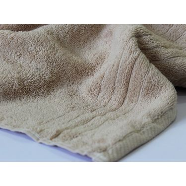 Story@Home Pack of 4 Pcs Bath Towel 100% Cotton-Light Beige-TWL-1010-B