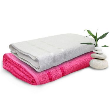 Set of 2 Storyathome Cotton Bath Towel-TW_1202-L_1201-X