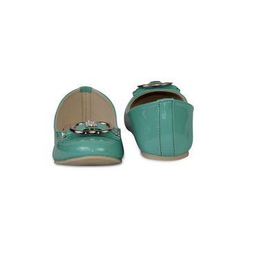 Ten Patent Leather Bellies For Women_tenbl019 - Green