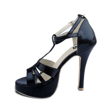 Ten Synthetic Sandals  For Women_tenbl128 - Black