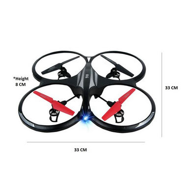 X-Drone R Quadcopter with Blade Protection, LED Lights
