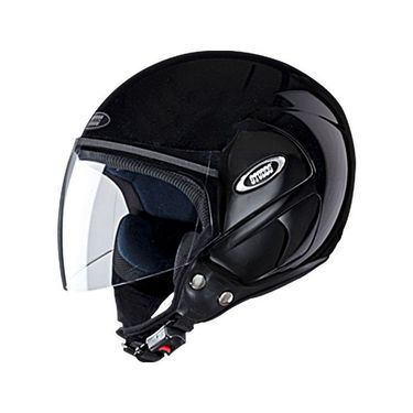 Studds - Open Face Helmet - Cub (Black) [Large - 58 cms]