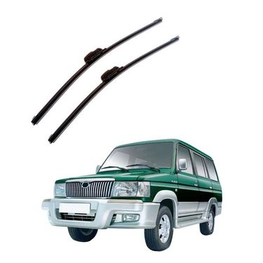 Autofurnish Frameless Wiper Blades for Toyota Qualis (D)16