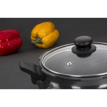 United Smart Cooker Hard Anodised 3 in 1 (Cooker+Strainer+Server) 5Ltr