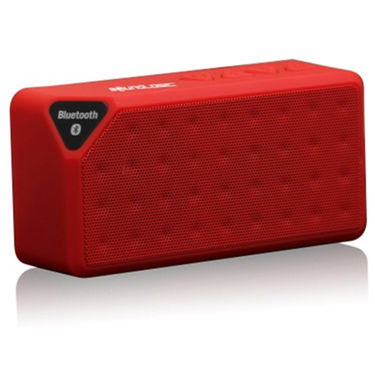 Adcom X3 Mini Wireless Mobile/Tablet Speaker - Red