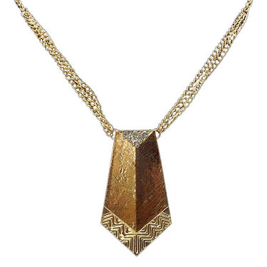 Urthn Pretty Necklace - Golden - 1102603