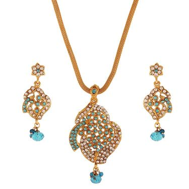 Variation Blue Designer Fashion Pendant Set_Vd15862