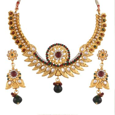 Combo of Variation Necklace Set + 1 Anklet + 1 Kada_Vd14044