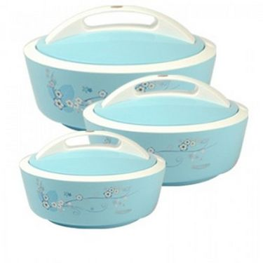 Rishabh Plast Shine Casserole Set Of 3