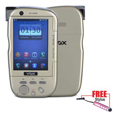 VOX 4 SIM Touch Screen Dual Camera Mobile cum Camcorder - DV20