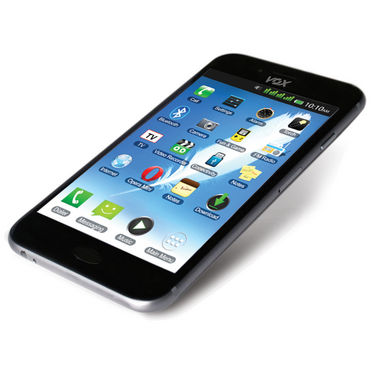 VOX 4 SIM Touch Screen TV Mobile with Dual Camera - V6666