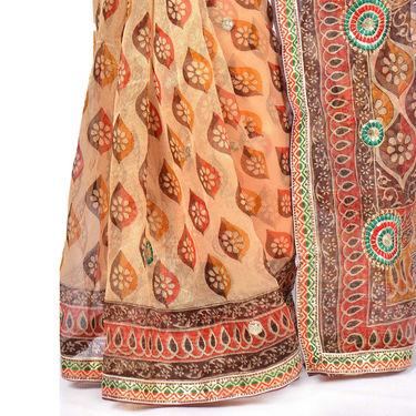 Vedika Pack of 6 Embroidered Kota Doria Sarees by Pakhi