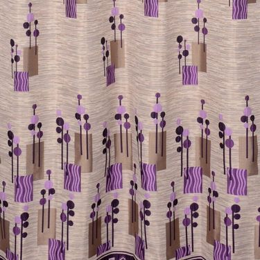 Set of 2 Printed Window curtain-5 feet-WBR_2_4014