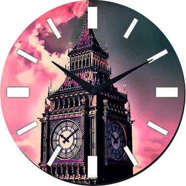 meSleep London Clock Digital Printed Wall Clock-WC-R-01-51
