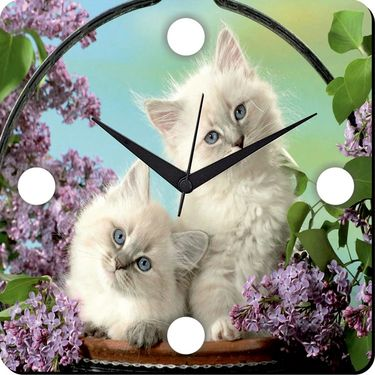 meSleep Cats Digital Printed Wall Clock-WC-S-01-034