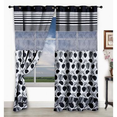 Storyathome Set of 2  Window curtain-5 feet-WCL_2-1005