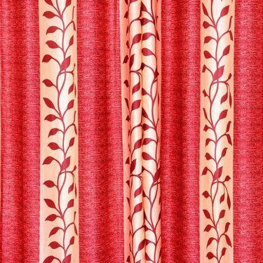 Set of 4 Printed Window curtain-5 feet-WNR_2_3015