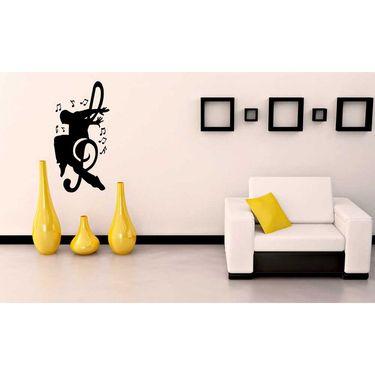 Musician Black Wall Sticker-WS-08-048