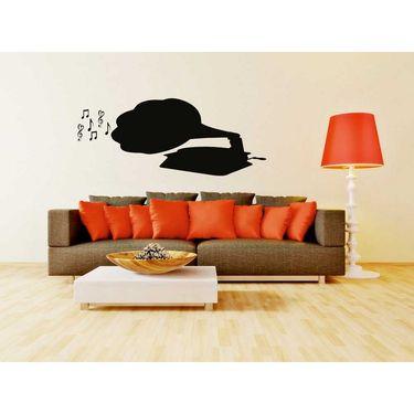 Musical Instruments Decorative Wall Sticker-WS-08-105