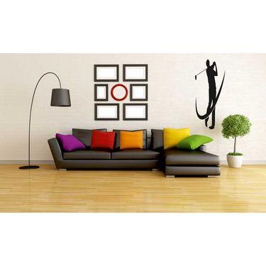 Black Men Decorative Wall Sticker-WS-08-207