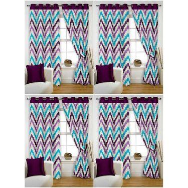 Storyathome Set of 8 Window curtain-5 feet-WTZ_4-1004