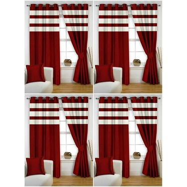Storyathome Set of 8 Window curtain-5 feet-WTZ_4-1011