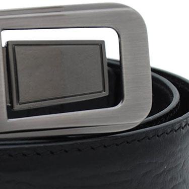 Walletsnbags Mustang Leather Belt - Black
