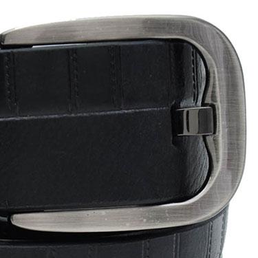 Walletsnbags Drymill Harness Leather Belt - Black