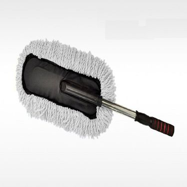 Combo Of Speedwav Microfiber Cloth And Small Microfiber Duster With Abro Shampoo 100ml