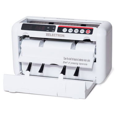 XElectron Portable Mini Money Counting Machine With Fake Currency Detector