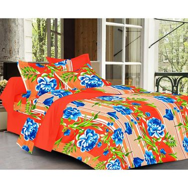 valtellina Set of 2 Double Bed Sheets with 2 Pillow Covers-Y_090-095