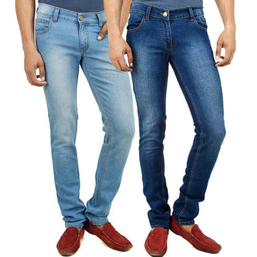 Pack of 2 Yellow Tree Cotton Jeans For Men_Ytjc02