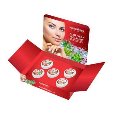 Combo of Aloe Vera Facial Kit + Face Massager