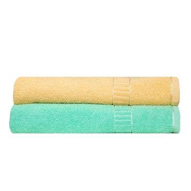 Banarsi Das Set of 2 Pure Cotton Bath Towels-bdt006