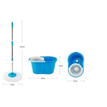 Alpine Platina easy spin mop Blue