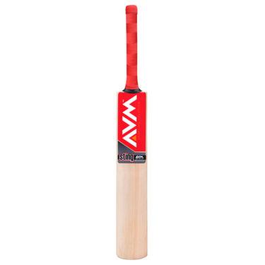 AVM Sting Kashmir Willow Cricket Bat (Short Handle, 1025 g)