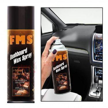 Combo Of Car Cleaning Formula 1 Car Shampoo + Scratch Out Polish + Carnauba Paste Wax + Fms Dashboard Wax Spray + Cloth-India Mall-846131