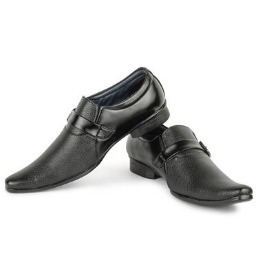 Foot n Style Black Formal Shoes -Fs3051