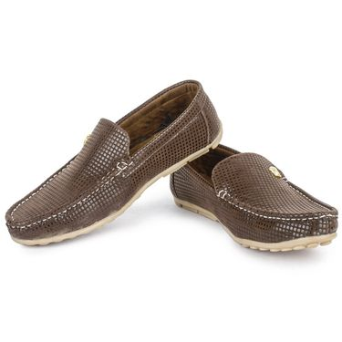 Foot n Style Brown Loafers -Fs3058
