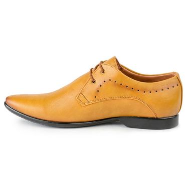 Foot n Style Leather Teak Formal Shoes -fs3094