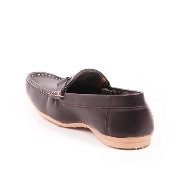 Foot n Style Leather Loafer FS 314 -Grey