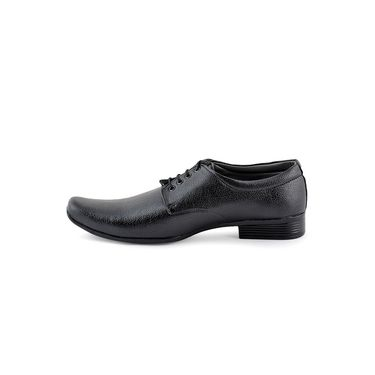 Foot n Style Cordovan Leather Formal Shoes FS 316 -Black