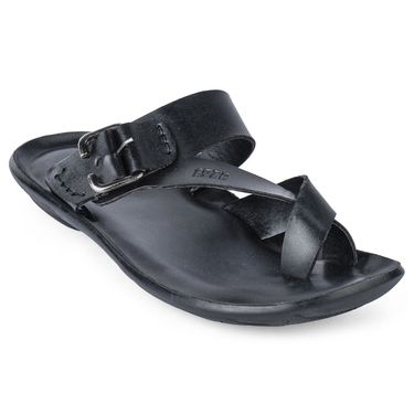 Foot N Style Black Sandals _FS372