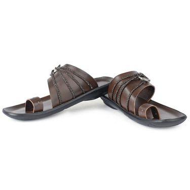 Foot N Style Brown Sandals _FS373